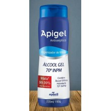 Álcool Gel Apigel 220ml