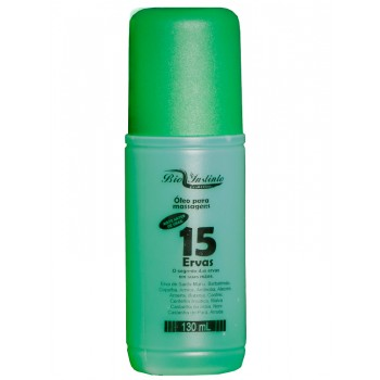 Óleo para massagens 15 Ervas 130 ml