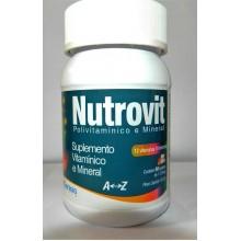 NutroVit - Polivitaminico e Mineral - 90 cpl