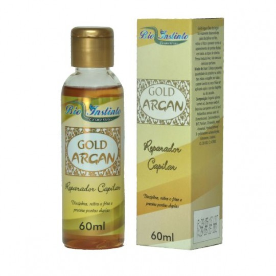 Reparador Capilar GOLD ARGAN 50ml
