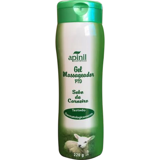 Gel Massageador PTD apinil 220g