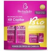 Kit Capilar Bio Ceramidas (Queratina e Dpantenol)