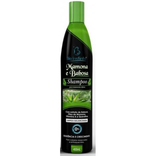 12 Shampoos 400ml - MAMONA E BABOSA