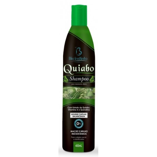 12 Shampoos 400ml - QUIABO